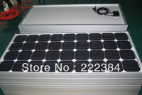 120W MONO solar panel with sea shipping to local seaport CFR to seaport(only available for the countries has seaport)