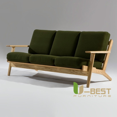 hans Wegner easy 3 seater sofa ,Hans J. Wegner Easy sofa ,easy chair, Replica Hans Wegner Plank sofa,Easy Chair ,Wooden sofa(China (Mainland))