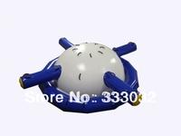 Cool Spring break 4.2mx1.68m Plato PVC tarpaulin Inflatable Seesaw Saturn floating Rocker inflatable water game Professional