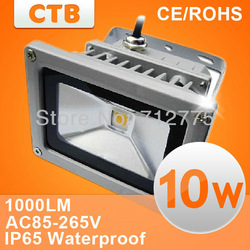 Free Shipping 10W LED Flood light IP65 Waterproof 85-265V high power outdoor 20W 30W 50W RGB Flood Light Street Lamp(China (Mainland))