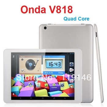 "Onda V818 Quad core Tablet PC 7.9"" IPS Allwinner A31s Android 4.1 HDMI 1GB RAM 16GB tablet android 4 0"