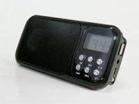 Freeshipping 1pcs Original Hi-Rice SD-102 portable Mini Speaker with FM+Flash light+big Sound