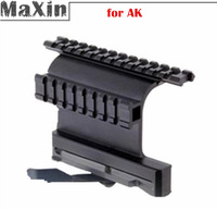 Free Shipping 1 piece Tactical AK Serie Rail Side Mount M052  20mm Weaver rail