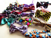 Free shipping fashion cloth pet dog cotton Bow Tie Necktie Collar