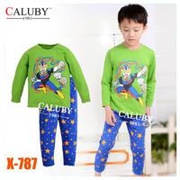 Girls DOC McStuffins Pajamas Sets Kids Autumn -Summer Clothing Set New 2014 Wholesale Children Cartoon LongSleeve Pijamas X-465