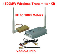 1.2G Wireless Video/Audio AV Transmitter & Receiver 1500mW 8CH 1.5W Long distance