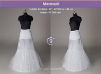 Elegant style No 9 White Crinoline wedding Petticoat