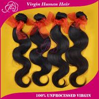 Hot selling 6A malaysian virgin hair 100% Unprocessed malaysian body wave virgin hair, mixed 4 pcs lot Free shipping Human Hair