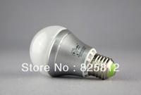 Big Eye 6W E27 A60 aluminum lamp body led ball bulb  led ball light CFL(warm yellow)