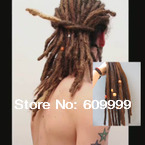 "Wholesale 4 pcs of 18"" Long Reggae wig in many Colors,Dynamic dance sport Dreadlocks for Men and Women-JFf01"