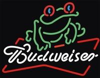 Budweiser beer Mangrove frog bar art neon light sign portable led signs 35*30cm