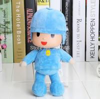 1Piece 12inch 30cm New bandai plush Pocoyo Soft Plush Stuffed Figure Toy Doll