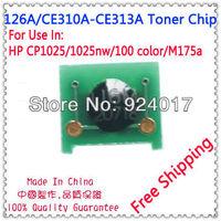 For HP 1025 Toner Chip,Toner Chip For HP LaserJet CP1025 M175a Printer,For Impressora HP CE310A CE311A CE312A CE313A Toner Chip