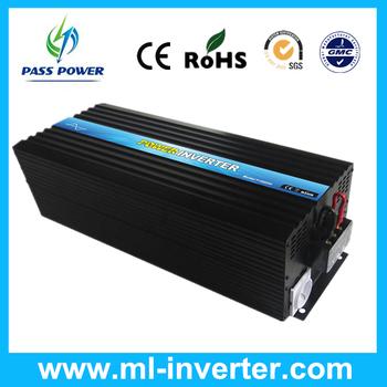 Manufacturer Selling Solar Power Inverter 5000watt 12v dc 125v ac One Year Warranty, CE Approved
