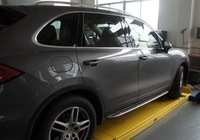 Cayenne 2009+ Side step bar running board ,Aluminium alloy+ABS, Automobile Accessories Decoration,Free shipping