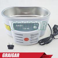 Free Shipping DADI DA-963 220V or 110V Stainless Steel 30W Ultrasonic Cleaner