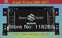 7 inch Car GPS for SUZUKI Grand Vitara dvd Navigation support Bluetooth, TV USB SD dvd player