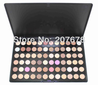 72 Warm Color Eye Shadow Palette Neutral Nude Eyeshadow Cosmetic Makeup Power Set