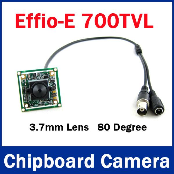 Hot Sale 700TVL 3.7mm Effio-e board Color Mini Sony CCD 4140+811 Effio CCTV Camera Board for CCTV Security(China (Mainland))