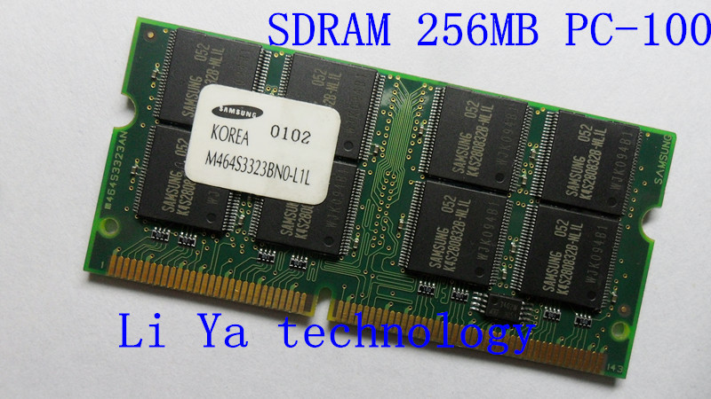 Samsung The original SD 256M PC100 notebook memory ram SODIMM computer For IBM T20/T21/T22/A20/A21/A22/X20/X21 Special RAM(China (Mainland))