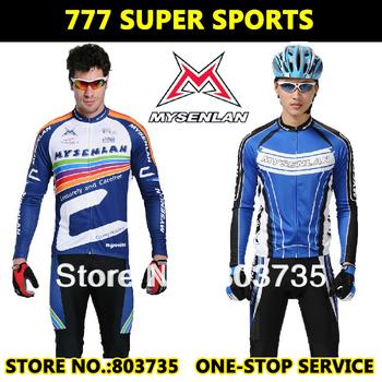 Hot Sales!!! Rusuoo Cycling Sports Jersey And Shorts Quick Dry 100% Sumblimation Printing Long Sleeves And Pants