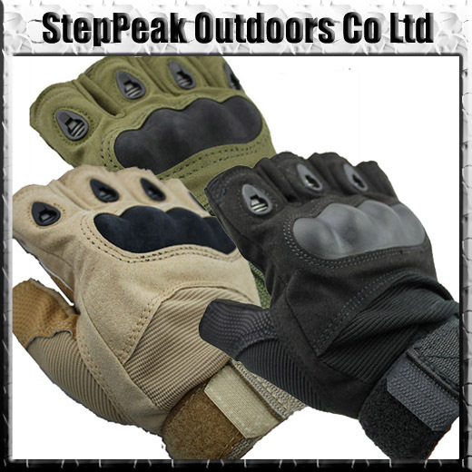 Outdoor Sports Fingerless Military Tactical Airsoft Hunting Cycling Bike Gloves Half Finger Gloves(SG-007)+Free Shipping(China (Mainland))