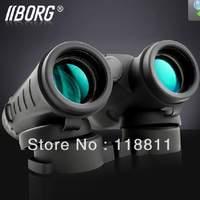 Borg WD8X32-BAK-4 TOP-Quality  8 x 32 HD Waterproof pocker-size Binoculars Telescope,nitrogen filled,free shipping