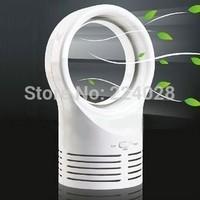 Mini bladeless fan, power supply tower fan, energy saving fan, office dedicated, desktop small electric fan, Free Shipping