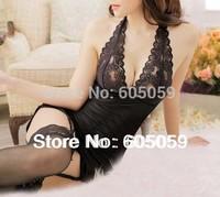 include stockings underwear Sexy lingerie babydoll women sleepwear lace open bra erotic Lingerie costumes kimono ul132