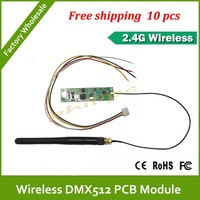 DHL Fast Free Shipping Wireless DMX pcb LED Lighting Controller/Transmitter/Receiver OEM