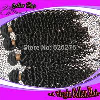 6A Collen Virgin Hair: Suprising Factory Price Virgin Remy Non-processed Malaysian Deep Wave human Hair