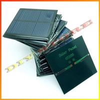 20pcs/lot solar panels  5.5v 90mA 0.6W mini solar cell 6.5x6.5 for Small power appliances drop shipping +free shipping-10000581