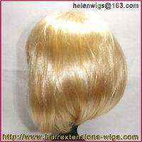 Fashion Bob Style Ladies Short Straight party wigs Fancy Dress Wig light blond golden lot