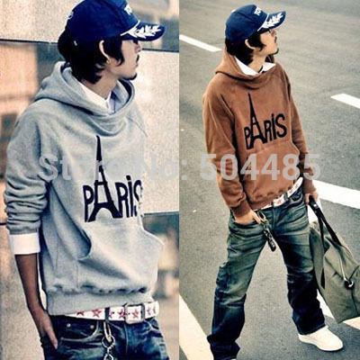 [S-278] Free Shipping Hot High Collar Coat,Top Brand Men's Jackets,Men's Dust Coat Men's Hoodies Clothing(China (Mainland))