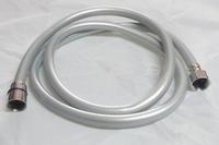 1.5m Silver gray Plating PVC Shower hoses PVC shattaf hoses Free shipping