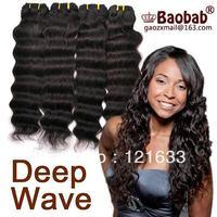 1pc 100%human unprocessed virgin brazilian hair weave brazilian curly virgin hair deep wave brazilian hair remy hair deep curly