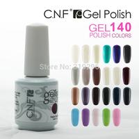 nail polish Free shipping 60 Colors(please choose12color) UV Gel Polish NEW CNF Soak Off Hot Sale 15ml Long-lasting Nail