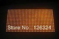 led board LED scrolling billboard module P10 semi-outdoor yellow color LED display indoor yellow module 320*160 high brightness