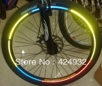 26 inch mountain bike wheel reflective stickers wholesale