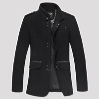 2013 Euro Style Brand Jackets for men coats casual mens jacket woollen jackets designer winter men's coat men clothing