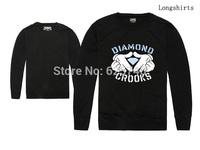 Crooks and Castles Diamond sweatshirt fashion hip hop hoodie mens pullover sportswear hiphop sweats brand new best price