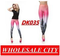 Women's Fashion Leggings Aurora Neon Stretchy Skinny Leg Pants Promotion Price Promotion High Quality