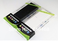 Free shipping Double USB 30000mAh power bank for Iphone5 Ipad mobile phone