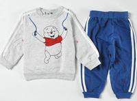 Freeshipping 2pcs/set Kids Baby Suit Boys Long Sleeve Shirt + Pant Sport Clothes sets Children Clothing