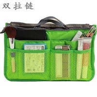 Blue Bai Stationery--Hot sale Lady's organizer bag handbag organizer travel bag organizer insert with pocket storage bags 800019