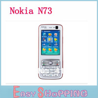 NOKIA N73 original unlocked 3G gsm mobile phone with russian menu multi languages HK SG POST free shipping