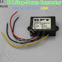 DC Buck Step-down Converter 24 to 12V 1.5A 18W  Module