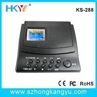 2 line telephone recorder,voice recorder box,phone recording device