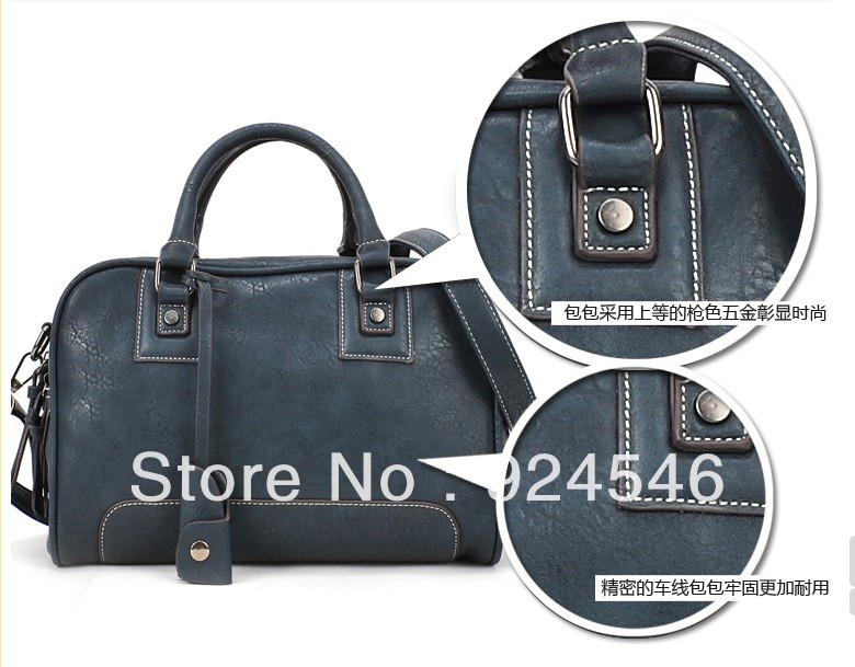 Free Shipping Hot 2013 New European And American Style Lady Hand Shoulder Bag Motorcycle Bag Tide(China (Mainland))