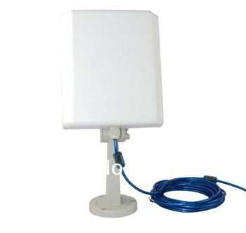 Wholesale price 150Mbps 36DBI high power 2.4GHz 2000MW usb wifi adapter wifi antenna android tablet usb adapter router
